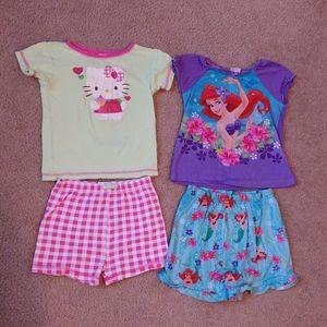 Girls 4t pajama sets